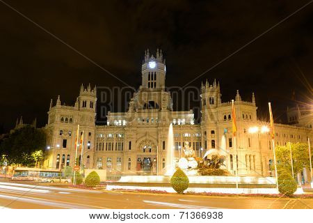 Palace of Communication, Madrid, Spain