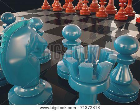 Chess Board Color