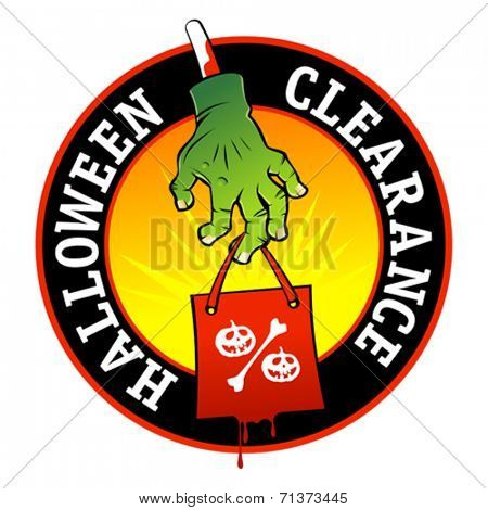 Halloween clearance symbol.