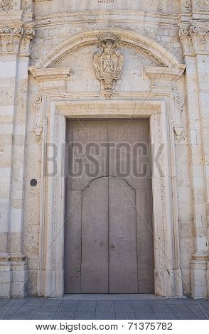 Church of St. Nicola. San Severo. Puglia. Italy.