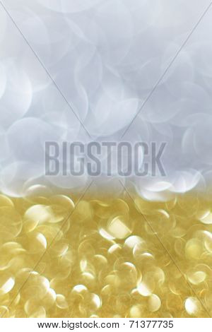 Gold And Silver Background