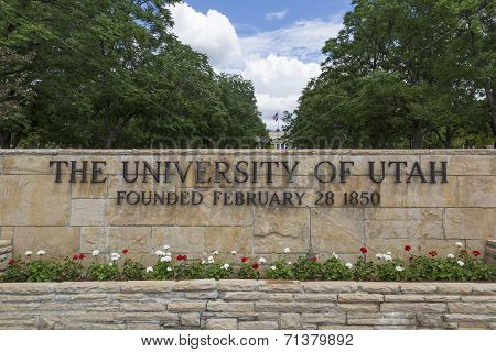 University of Utah Main Entrance