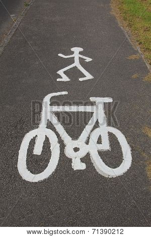 Cycle And Pedestrian Route