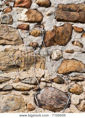 Vintage Stones Wall
