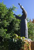 picture of patron  - the patron saint of Italy Francis of Assisi who established the order of the Franciscans - JPG