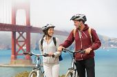 pic of exercise bike  - Biking Golden Gate Bridge  - JPG