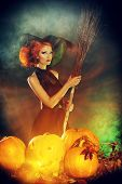 pic of witches  - Beautiful red - JPG