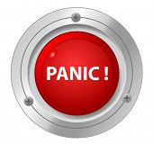 image of hysterics  - A panic red button - JPG