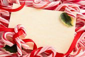 picture of candy cane border  - Backgrounds - JPG