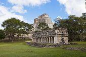 stock photo of yucatan  - uxmal - JPG