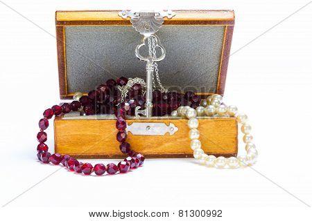 Beads In A Casket.