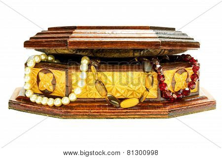 Casket With Ornaments