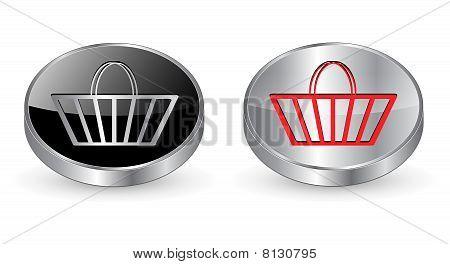 Shopping, buy icon, button