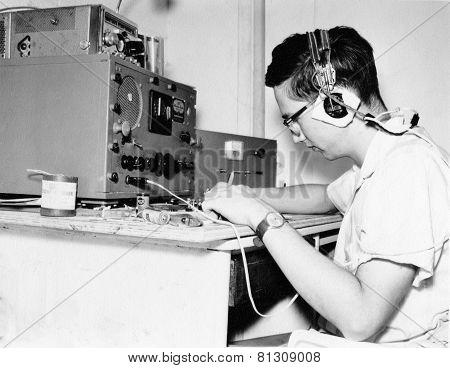 Morse code signals intelligence in vietnam