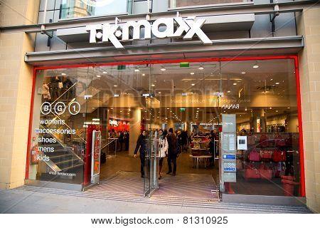 TK Maxx London
