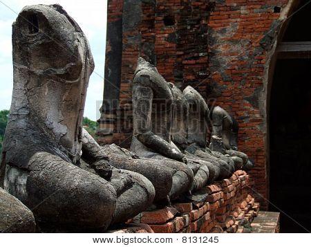 Ancint Buddha Statue