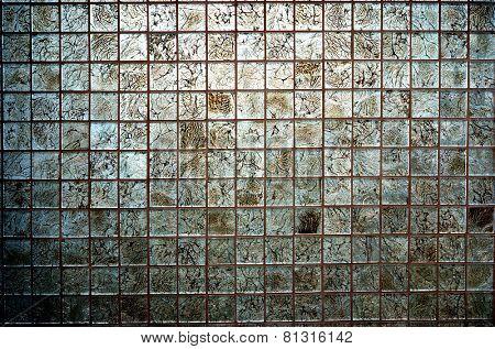 Tiles textures: multicoloured mosaic backgrounds
