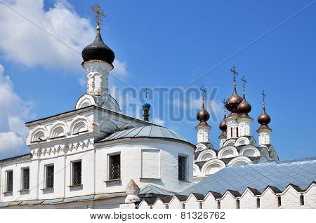 Towers And Golden Cupolas Of Church In Murom