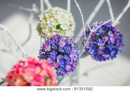 Round Decorative Flower Balls