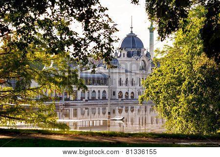 Varosliget Public City Park, Budapest