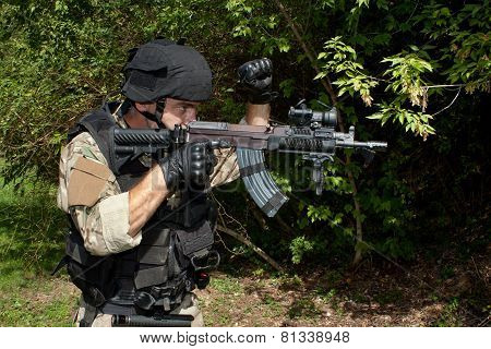 soldier special counterterrorism unit