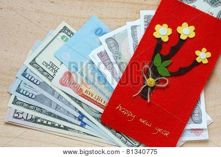 Vietnam Tet, Red Envelope, Lucky Money