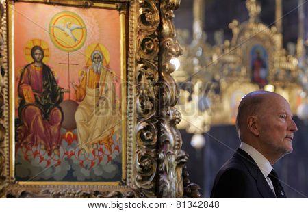Bulgaria King Simeon Saxe-coburg-gotha Portrait