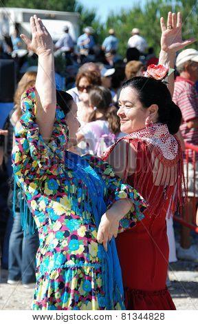 Flamenco dancers, Marbella.