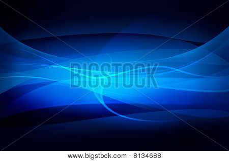 abstract blue Background, Wave, Schleier oder Rauch Textur computergenerierte Bild