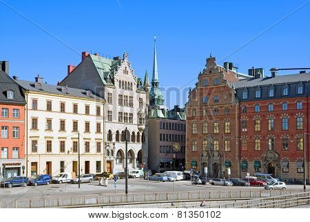 Stockholm. Sweden. View of Gamla Stan