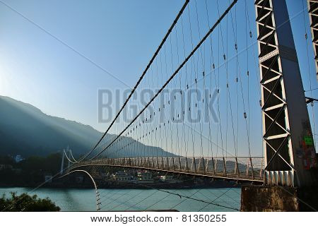 Bridge On River Ganga