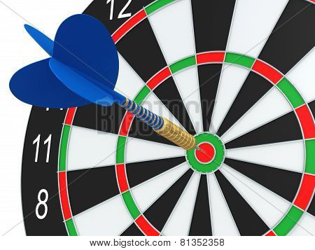Darts In Bull's-eye