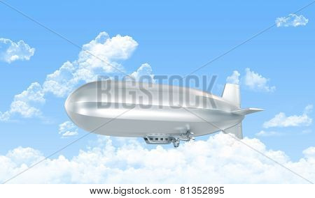 Dirigible In The Sky