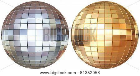 Disco Mirrorballs