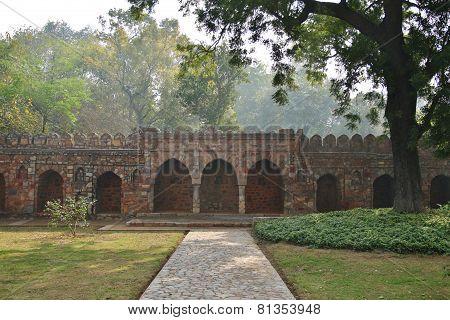 Wall Of Humayun's Tomb,
