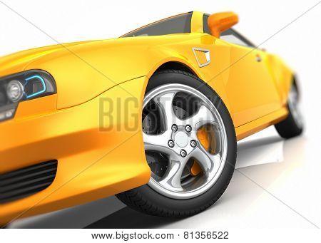 Sports Car Closeup