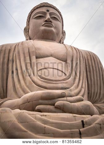 The Great Buddha Statue In Bodhgaya, India