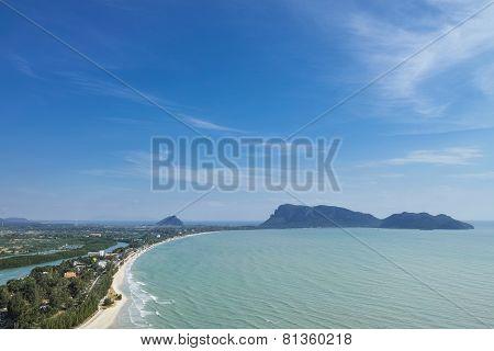 Big Gulf With Blue Sky