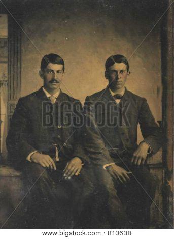 1888 Photo of 2 men