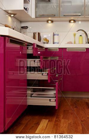 Open Pink Socker