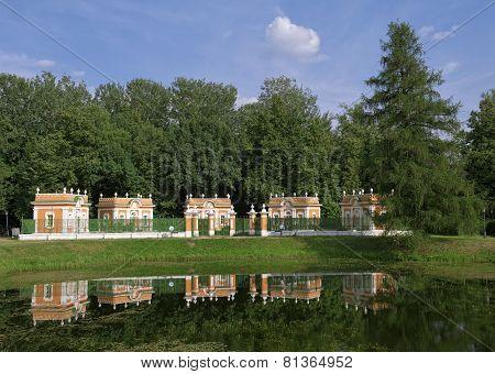 Kuskovo, Menazherei - houses for waterfowl