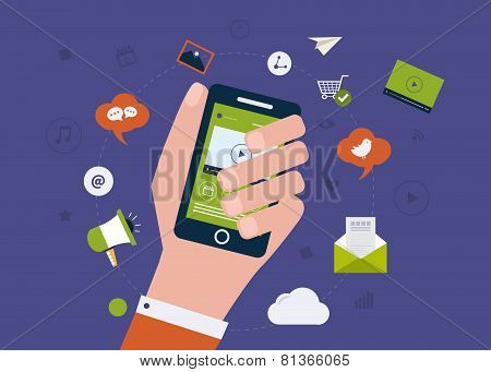 Digital mobile marketing