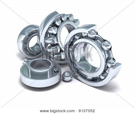 Detailed bearings production