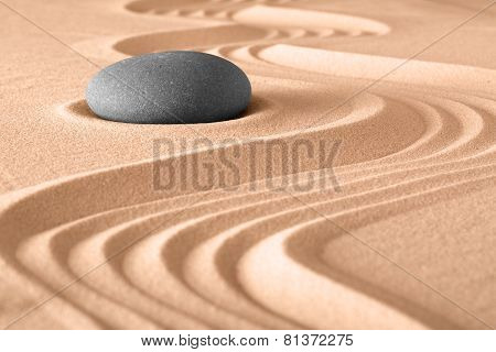 Zen Garden Meditation Background