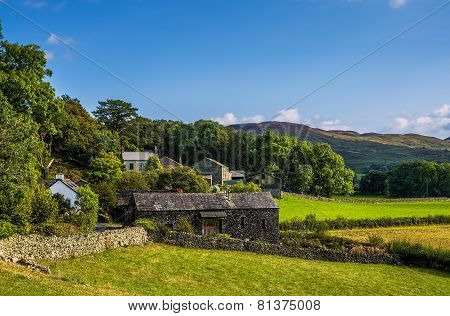 Stone barn in Cumbria