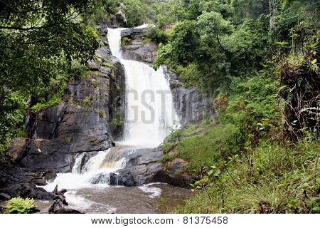 Chisanga Waterfall on the Nyika Plateau in Northern Malawi, Africa