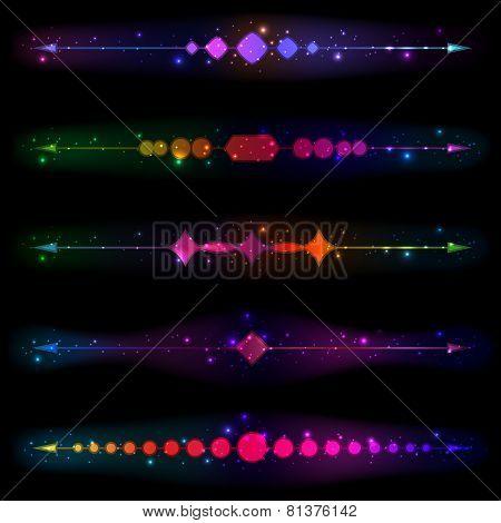 Glittering Design Elements
