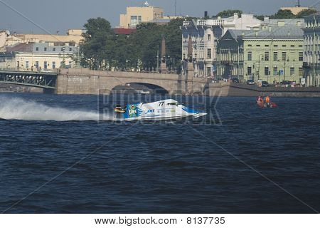Formula 1 on water. GP Russia.