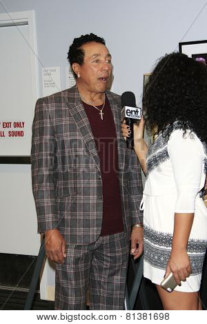 LOS ANGELES - JAN 28: Smokey Robinson at the 30th Anniversary of 'We Are The World' at The GRAMMY Museum on January 28, 2015 in Los Angeles, California