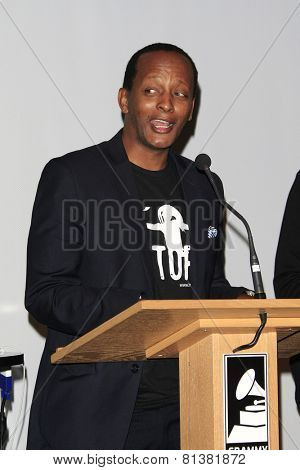 LOS ANGELES - JAN 28: Eric Kabera at the 30th Anniversary of 'We Are The World' at The GRAMMY Museum on January 28, 2015 in Los Angeles, California
